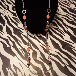 Ruby Rd. Long Beaded Necklace - NWT